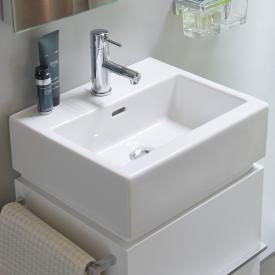 Laufen Living City Handwaschbecken mit 1 Hahnloch, ungeschliffen