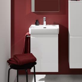 Laufen Pro A Waschtischunterschrank mit 1 Tür Front weiß matt / Korpus weiß matt