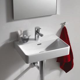 Laufen Pro S Handwaschbecken weiß, mit 1 Hahnloch, ungeschliffen, mit Überlauf
