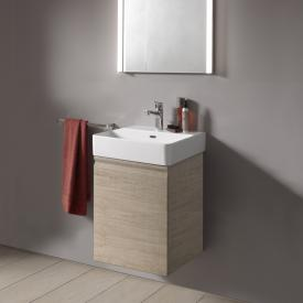 Laufen Pro S Handwaschbeckenunterschrank mit 1 Tür Front eiche hell / Korpus eiche hell
