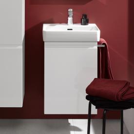 Laufen Pro S Handwaschbeckenunterschrank mit 1 Tür Front weiß matt / Korpus weiß matt