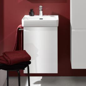 Laufen Pro S Waschtischunterschrank mit 1 Tür Front weiß glanz / Korpus weiß glanz