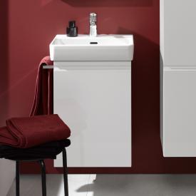Laufen Pro S Waschtischunterschrank mit 1 Tür Front weiß matt / Korpus weiß matt