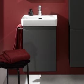 Laufen Pro S Waschtischunterschrank mit 1 Tür Front graphit / Korpus graphit