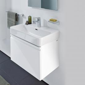 Laufen Pro S Waschtischunterschrank mit 1 Auszug Front weiß glanz / Korpus weiß glanz, ohne Innenschublade