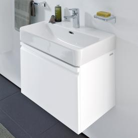 Laufen Pro S Waschtischunterschrank mit 1 Auszug Front weiß matt / Korpus weiß matt, ohne Innenschublade