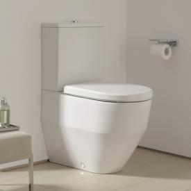 Laufen Pro Stand-Tiefspül-WC für Kombination, wandbündig mit Spülrand, weiß, mit CleanCoat