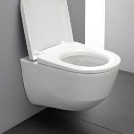 Laufen Pro Wand-Tiefspül-WC Compact spülrandlos weiß, mit Clean Coat
