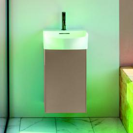 Laufen SONAR Handwaschbeckenunterschrank mit 1 Tür Front gold / Korpus gold