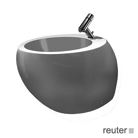 laufen alessi one stand bidet wei mit clean coat h8329714003041 reuter. Black Bedroom Furniture Sets. Home Design Ideas