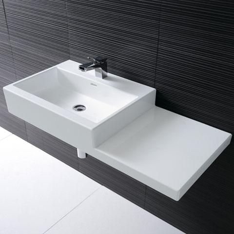 laufen living city waschtisch ohne hahnloch h8184320001091 reuter. Black Bedroom Furniture Sets. Home Design Ideas
