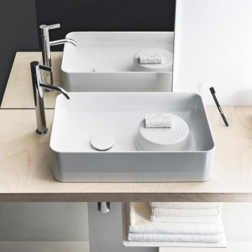 laufen val waschtisch schale wei ohne hahnloch ohne berlauf h8122820001121 reuter. Black Bedroom Furniture Sets. Home Design Ideas