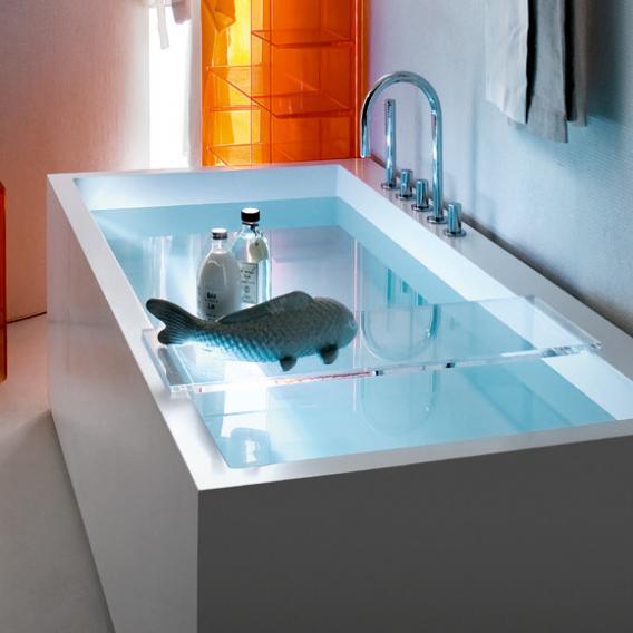 kartell by laufen ablage f r badewanne kristallklar h3853320840001 reuter. Black Bedroom Furniture Sets. Home Design Ideas