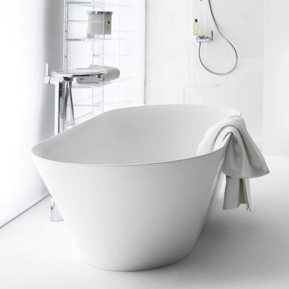 Kartell by Laufen Freistehende Oval-Badewanne