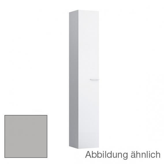 Kartell by Laufen Hochschrank mit 1 Tür Front grau matt / Korpus grau matt
