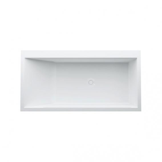 Kartell by LAUFEN Rechteck-Badewanne, Einbau mit LED-Beleuchtung