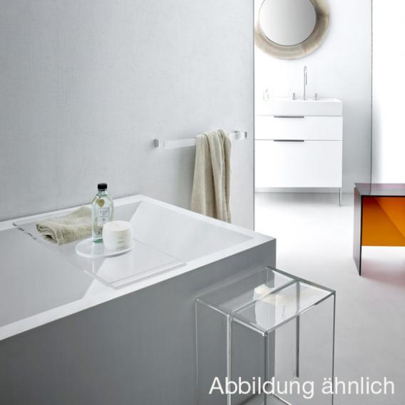 Kartell by Laufen Rechteck-Badewanne mit LED-Beleuchtung, Fußende links