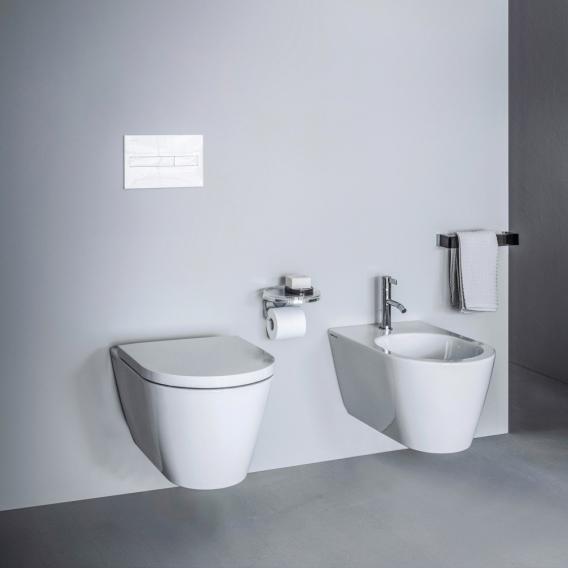 Kartell by LAUFEN Wand-Tiefspül-WC, spülrandlos weiß, mit CleanCoat