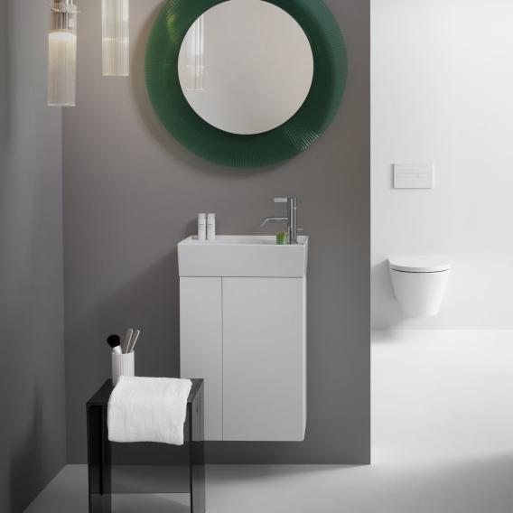 Kartell by Laufen Waschtischunterschrank mit 1 Tür Front weiß matt / Korpus weiß matt