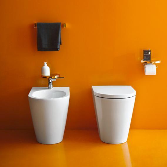 Kartell by Laufen WC-Sitz, abnehmbar weiß, mit Absenkautomattik