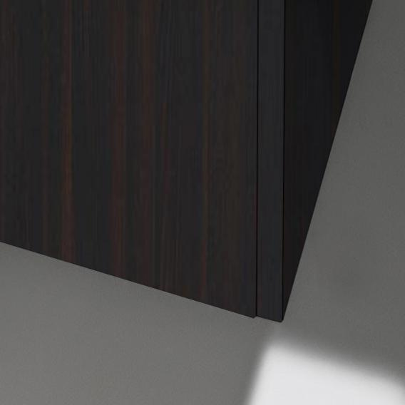 Laufen Base für Pro S Hochschrank mit 2 Türen Front ulme dunkel / Korpus ulme dunkel