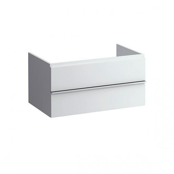Laufen Case Auszug-Element mit 2 Auszug Front weiß matt / Korpus weiß matt