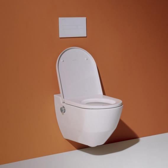 Laufen Cleanet Navia Dusch-WC Komplettanlage weiß, mit Clean Coat