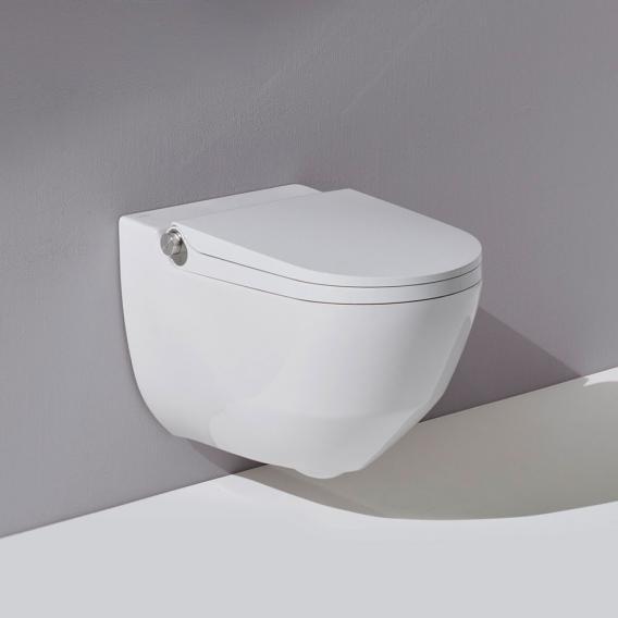 Laufen Cleanet Riva Dusch-WC Komplettanlage weiß mit CleanCoat (LCC)
