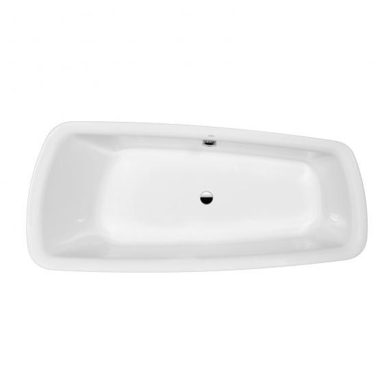 Laufen Palomba Sonderform-Badewanne mit 20 mm Wannenrand weiß