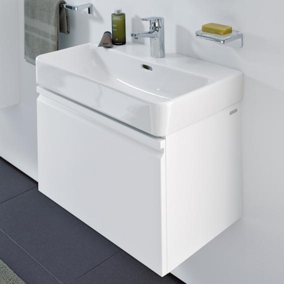 Laufen Pro S Waschtischunterschrank mit 1 Auszug Front weiß matt / Korpus weiß matt, mit Innenschublade