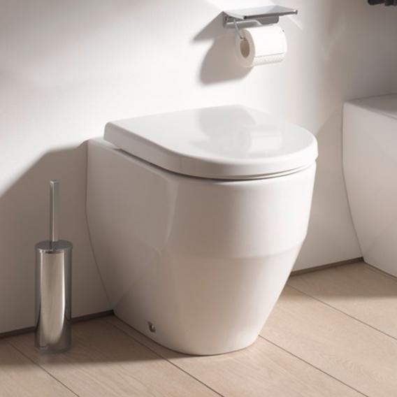 Laufen Pro Stand-Tiefspül-WC ohne Spülrand, weiß, mit Clean Coat