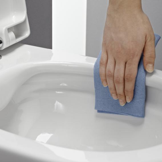 Laufen Pro Wand-Tiefspül-WC Compact spülrandlos weiß, mit CleanCoat