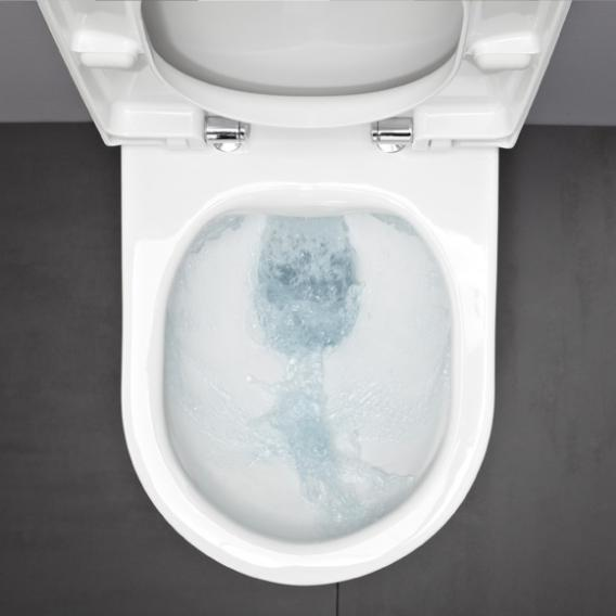 Laufen Pro Wand-Tiefspül-WC ohne Spülrand, weiß, mit Clean Coat