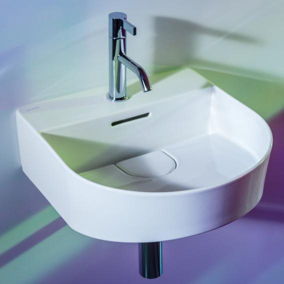 Laufen SONAR Handwaschbecken weiß, mit Clean Coat, mit Hahnloch, ungeschliffen
