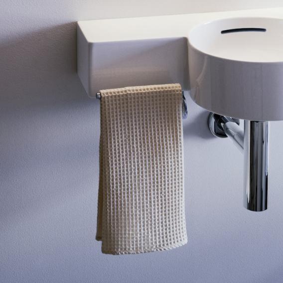 Laufen VAL Handtuchhalter für Handwaschbecken Ausführung: links