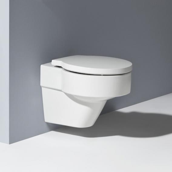 Laufen VAL Wand-Tiefspül-WC, spülrandlos weiß, mit Clean Coat