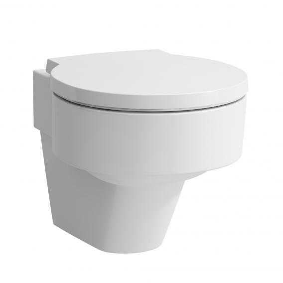 Laufen VAL Wand-Tiefspül-WC, spülrandlos weiß, mit CleanCoat