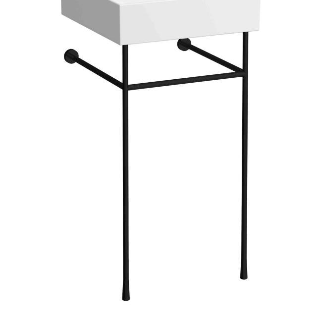 Kartell by Laufen Handtuchhaltergestell für Handwaschbecken schwarz matt