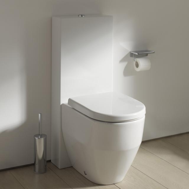 Kartell by LAUFEN Stand-Spülkasten weiß, Wasseranschluss hinten links oben innen