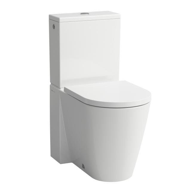Kartell by Laufen Stand-Tiefspül-WC für Kombination, spülrandlos weiß matt