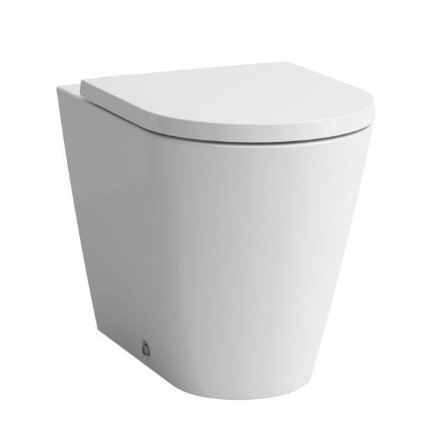 Kartell by Laufen Stand-Tiefspül-WC, spülrandlos weiß matt