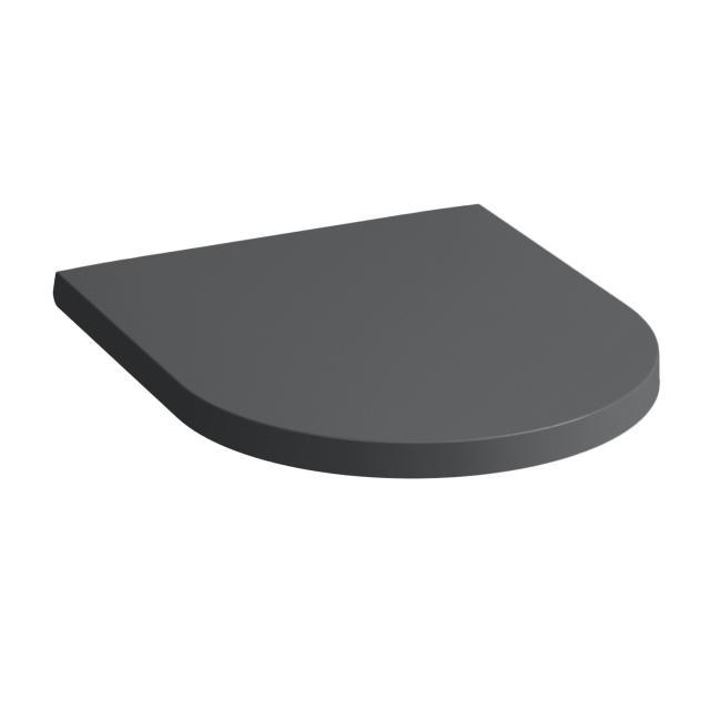 Kartell by Laufen WC-Sitz, abnehmbar graphit matt, mit Absenkautomattik