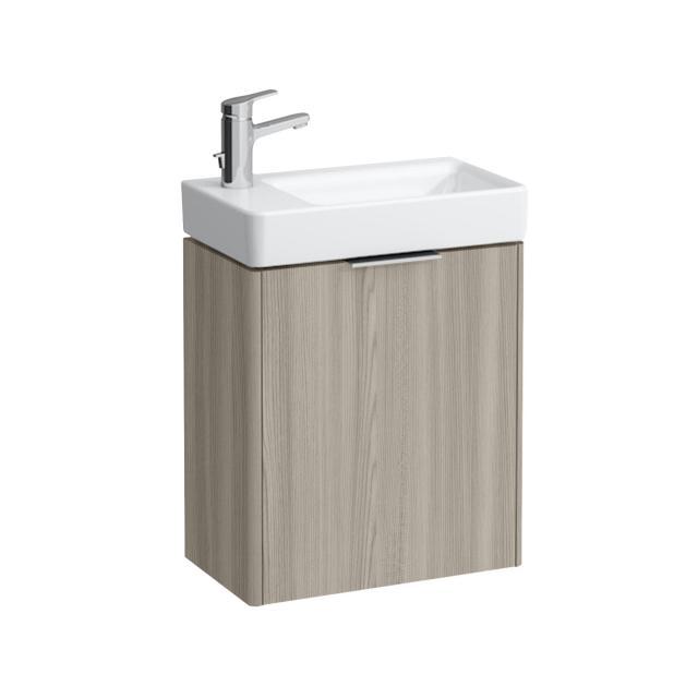 Laufen Base für Pro S Handwaschbeckenunterschrank mit 1 Tür Front ulme hell / Korpus ulme hell