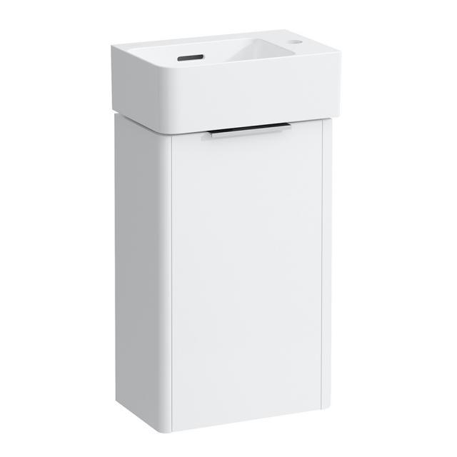 LAUFEN Base für VAL Handwaschbeckenunterschrank mit 1 Tür Front weiß matt / Korpus weiß matt