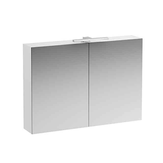 LAUFEN Base Spiegelschrank mit LED-Beleuchtung weiß matt