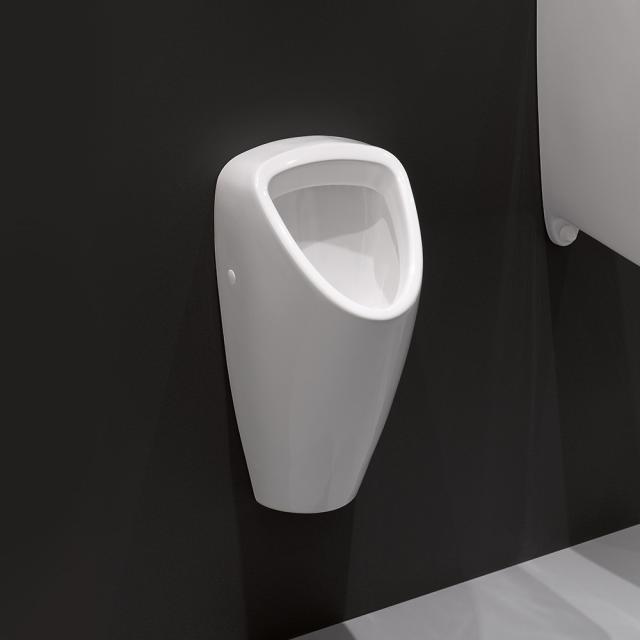 Laufen Caprino Plus Urinal weiß, Zulauf hinten