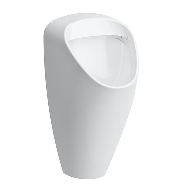 LAUFEN Caprino Plus Urinal, Zulauf hinten weiß mit CleanCoat