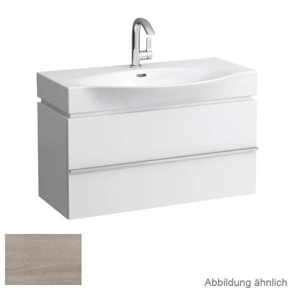 LAUFEN Case for Palace Waschtischunterschrank mit 1 Auszug Front eiche gekalkt / Korpus eiche gekalkt