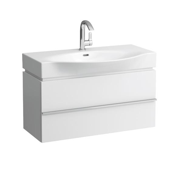 Laufen Case for Palace Waschtischunterschrank mit 1 Auszug Front weiß matt / Korpus weiß matt