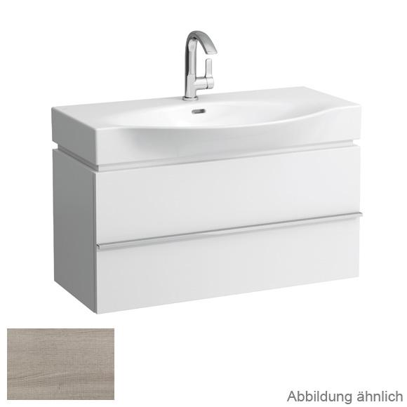 Laufen Case for Palace Waschtischunterschrank mit 2 Auszügen Front eiche gekalkt / Korpus eiche gekalkt